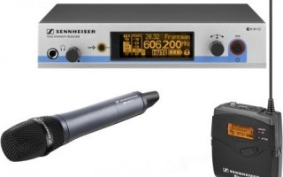 New Sennheiser EW500 G3 Wireless Microphones