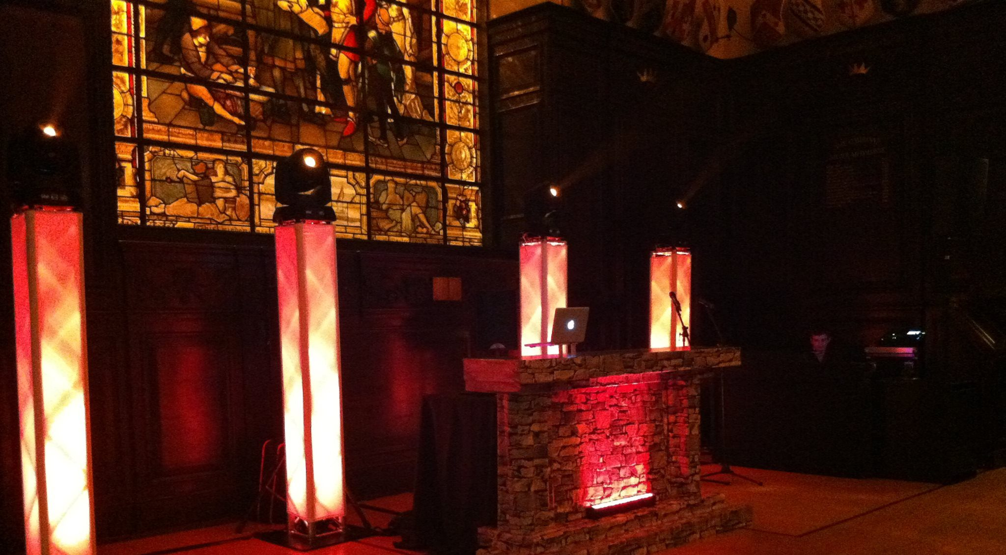 Lighting Solutions For Medieval Event